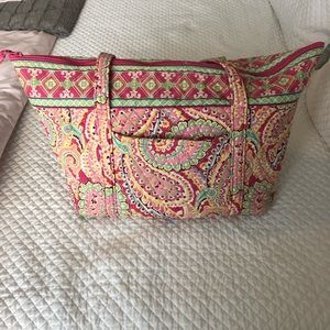 Vera Bradley Miller Travel Bag- Signature Cotton